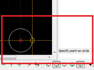 "Specify point on circle"" on LibreCAD 2.2.0 RC1"