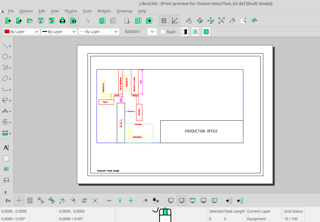 Troubleshooting - How to set drawing scale as 1mm:175mm
